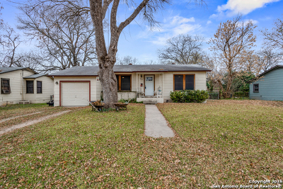 Schertz Single Family Home Price Change: 207 Mitchell Ave