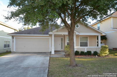 Cibolo Single Family Home New: 139 Brook View