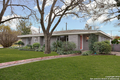 San Antonio Single Family Home New: 642 Brightwood Pl
