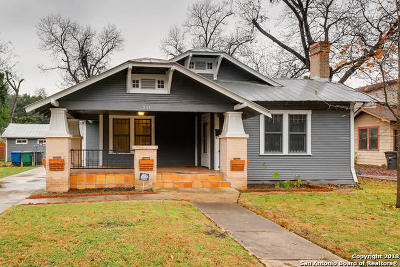 Bexar County Single Family Home New: 346 Kirk Pl