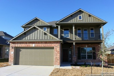 Schertz Single Family Home New: 4514 Pecos Point