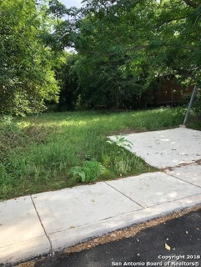 San Antonio Residential Lots & Land New: 142 Jemison St