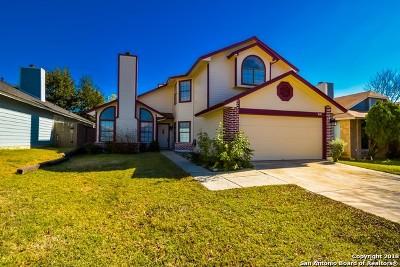 San Antonio Single Family Home New: 8118 Ludlow Trail