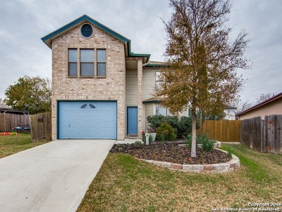 Bexar County Single Family Home New: 6711 Campus Meadow Dr
