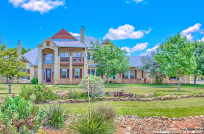 Pipe Creek TX Single Family Home New: $1,100,000