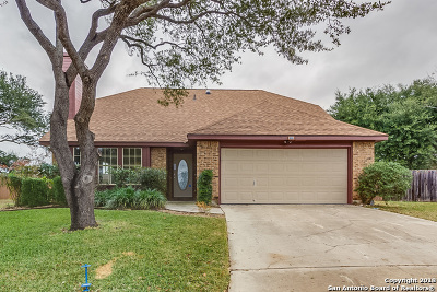 Schertz Single Family Home For Sale: 1225 Idlewood