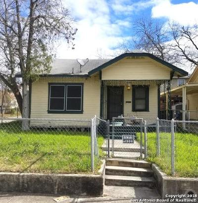 San Antonio TX Single Family Home New: $84,500