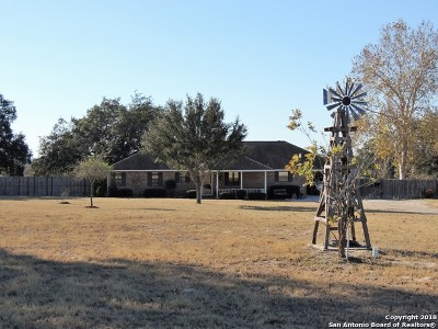 Atascosa County Single Family Home New: 8695 W Fm 476