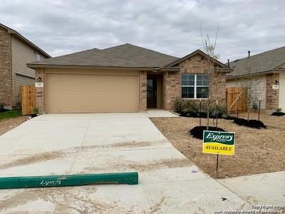 San Antonio Single Family Home New: 751 Mizuno Way