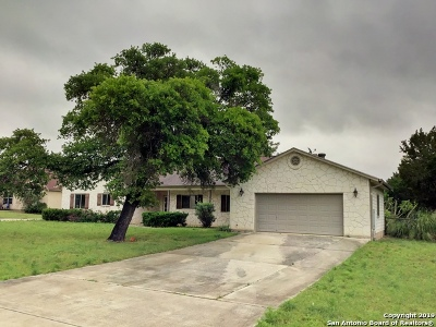 Bandera Single Family Home For Sale: 161 Old Camp Rd