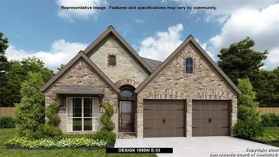 San Antonio Single Family Home New: 28545 Shailene Drive