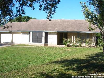 San Antonio TX Single Family Home Back on Market: $139,000