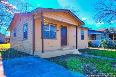 San Antonio Single Family Home New: 442 Estrella St