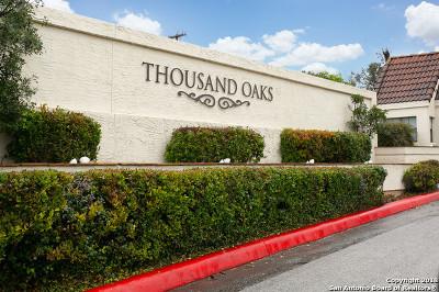 Bexar County Condo/Townhouse Active Option: 2255 Thousand Oaks Dr #510
