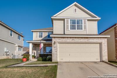 San Antonio Single Family Home New: 9611 Stephens Ranch