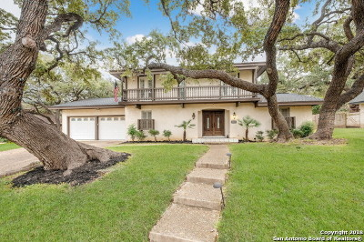 Bexar County Single Family Home New: 10806 Silhouette St