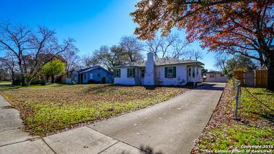 San Antonio Single Family Home New: 314 Seeling Blvd