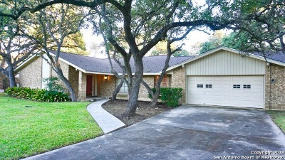 Bexar County Single Family Home New: 140 Garrapata Ln
