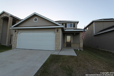 Bexar County Single Family Home New: 219 Quince Flower