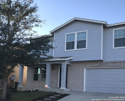 Cibolo Single Family Home New: 156 Hinge Chase