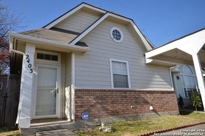 San Antonio Single Family Home New: 2403 Crown Hollow
