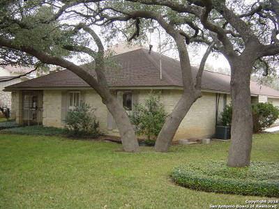 Bexar County Single Family Home New: 13734 Wood Point Dr