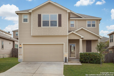 San Antonio Single Family Home New: 9806 Marbach Bend