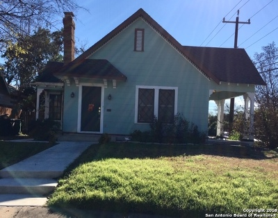San Antonio Single Family Home New: 2054 W Gramercy Pl
