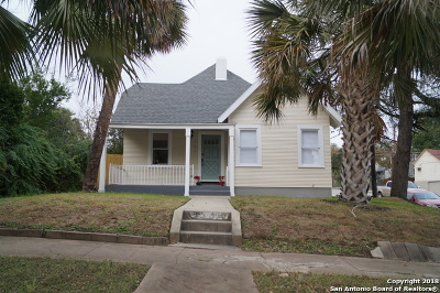 San Antonio Single Family Home New: 901 W Woodlawn Ave
