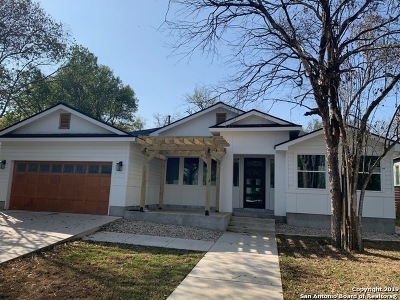 San Antonio Single Family Home New: 1850 Flamingo Dr