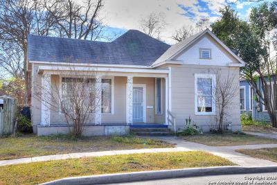San Antonio Single Family Home New: 922 Hays St