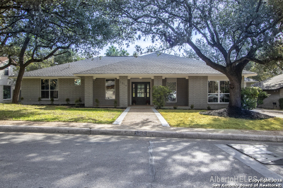 San Antonio Single Family Home New: 3514 Hunters Circle St
