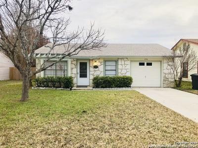 San Antonio Single Family Home New: 9774 Hidden Swan