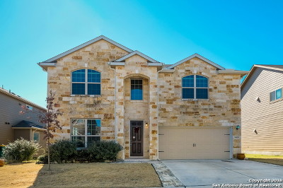 Converse Single Family Home New: 10418 Bulwark Peak
