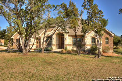 New Braunfels Single Family Home Active Option: 5600 Copper Creek