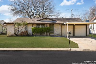 Kirby Single Family Home Active Option: 3315 Diadem Ln