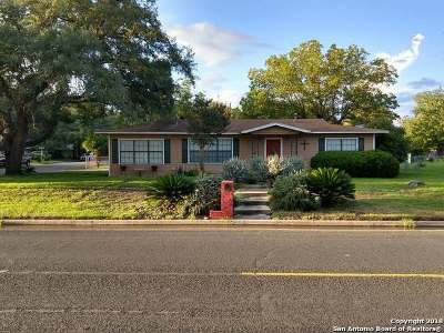 Hondo Single Family Home Back on Market: 1408 30th St