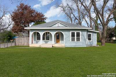 Schertz Single Family Home New: 513 Exchange Ave