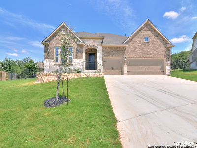 Helotes Single Family Home Price Change: 16519 Asturias