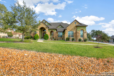 New Braunfels TX Single Family Home New: $635,000