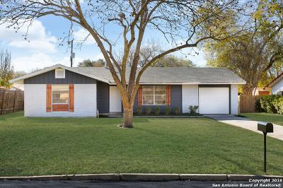 San Antonio Single Family Home New: 4346 Sun Gate St