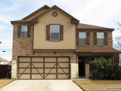 Cibolo Single Family Home New: 408 Gatewood Cliffs