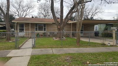 San Antonio TX Single Family Home New: $98,000