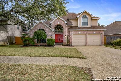 San Antonio Single Family Home New: 15628 Ashton Wood