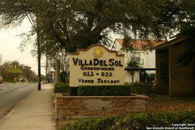 San Antonio Condo/Townhouse New: 923 Vance Jackson Rd #307