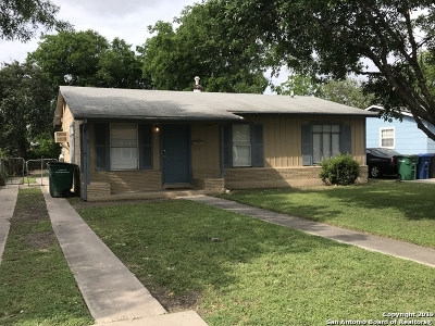 San Antonio Single Family Home Active Option: 247 W Emerson Ave