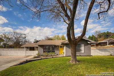 San Antonio Single Family Home New: 5215 Colebrook Dr