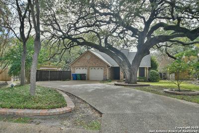 San Antonio Single Family Home New: 13703 Cedar Canyon