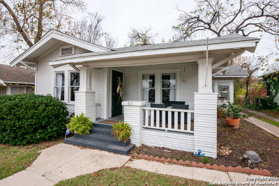 San Antonio Single Family Home New: 811 Rigsby Ave