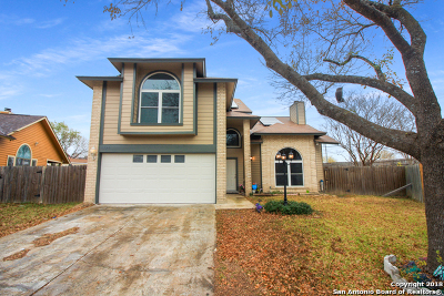 San Antonio Single Family Home New: 7727 Barren Ridge Dr